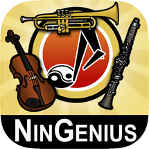 NinGenius Music Kids Notes Fingerings App